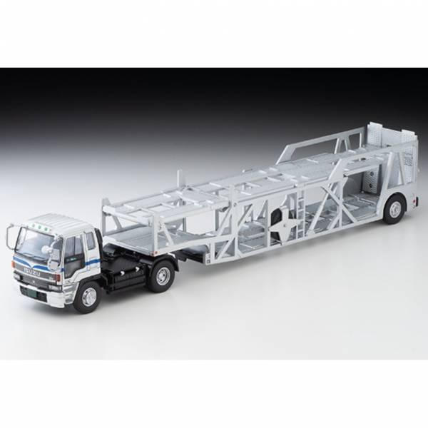 TOMYTEC 1/64 LV-N225b ISUZU 810EX Car Transporter Silver 迷你車  TOMYTEC 1/64 LV-N225b ISUZU 810EX Car Transporter Silver 迷你車