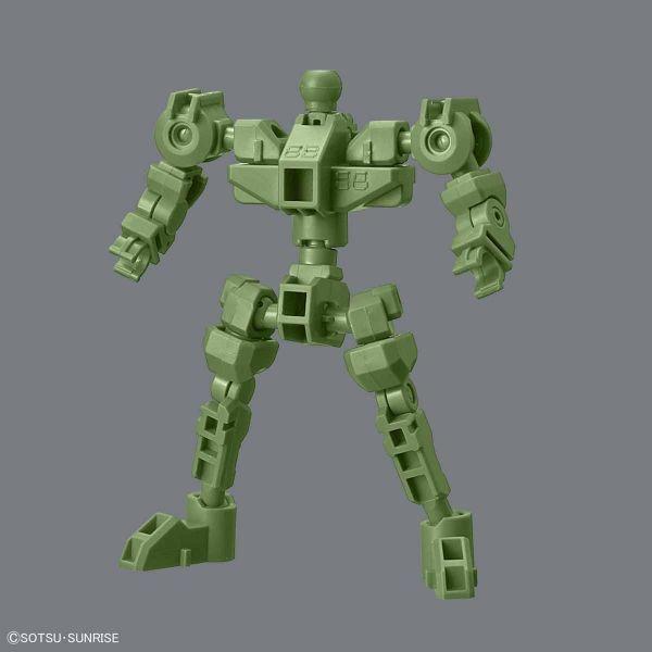 BANDAI SDCS 骨架 綠色 SDCS,骨架,綠色