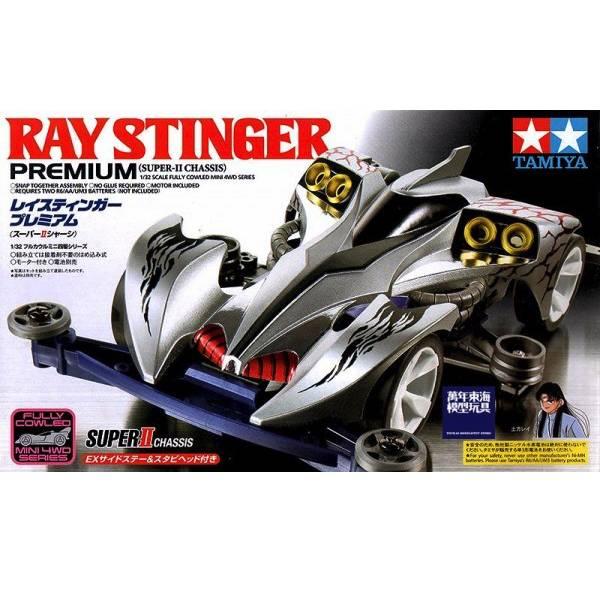 TAMIYA 田宮 1/32 #19438 迷你四驅車 爆走兄弟 土方令 魔鬼司令 Ray Stinger Premium Super II 底盤