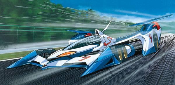[新規版] AOSHIMA 青島 1/24 閃電霹靂車 #01 ν阿斯拉 AKF-0 組裝模型 AOSHIMA,1/24,閃電霹靂車,#01,ν阿斯拉 新版AKF-0