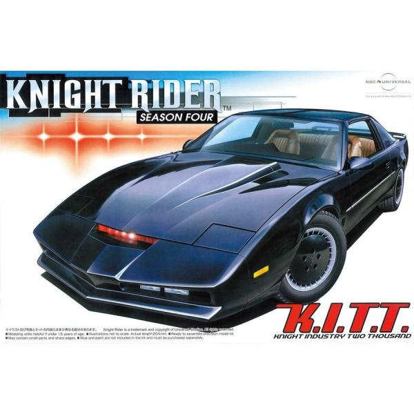 AOSHIMA 1/24 Knight Rider 霹靂遊俠 Knight2000 K.I.T.T. I  第四季式樣 組裝模型 李麥克 夥計 AOSHIMA,1/24,霹靂遊俠,李麥克,夥計,KNIGHT RIDER,第四季式樣,組裝模型