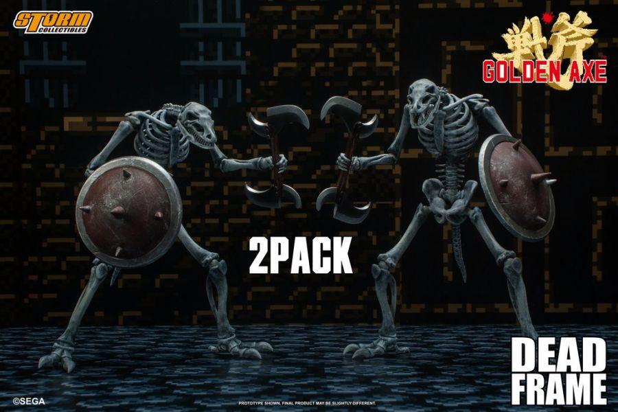 Storm Collectibles 1/12 戰斧3 死亡骨骸 2入組 可動完成品 Storm Collectibles,1/12,戰斧3,死亡骨骸,2入組,可動完成品,