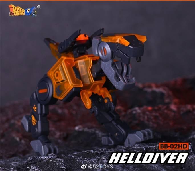 52Toys 猛獸匣 BEAST BOX 小恐龍 地獄忍者 HellDiver BB02   52Toys,猛獸匣,BEAST BOX,小恐龍,地獄潛將,HellDiver BB02