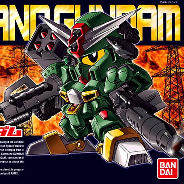 BANDAI BB戰士 BB 375 指揮官鋼彈(第一型態) Command Gundam BANDAI ,BB378,指揮官鋼彈,SD鋼彈戰記,指揮官鋼彈,軍刀刃