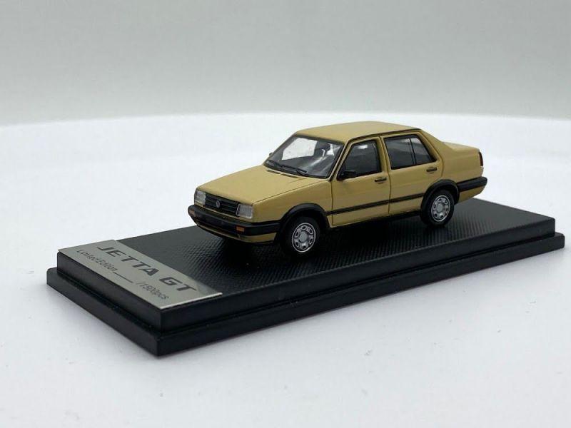MODEL COLLECT 1/64 福斯Volkswagen Jetta GT 1984-1992 黃褐色 合金模型 MODEL COLLECT,1/64,福斯,Volkswagen Jetta GT 1984-1992