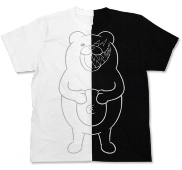 [再販] COSPA 新槍彈辯駁V3 大家的自相殘殺新學期 黑白熊 短袖T恤 黑白色 COSPA,新槍彈辯駁V3,大家的自相殘殺新學期,黑白熊,短袖T恤,黑白色