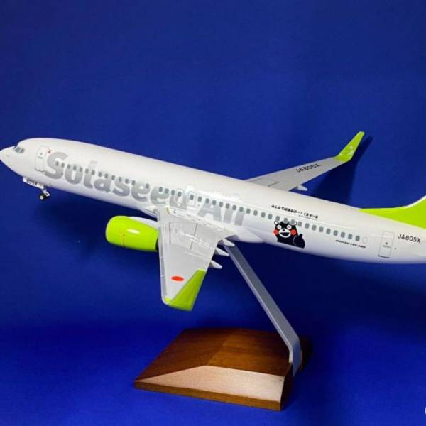 EVER RISE 1/100 737-300 空之子航空 熊本熊號 JA805X EVER RISE,1,100,737,300,空之子航空,熊本熊號,JA805X,