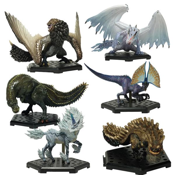 CAPCOM 盒玩 魔物獵人魔物集Plus Vol.12 全6種 一中盒6入販售 CAPCOM,盒玩,魔物獵人魔物集Plus,Vol.12,全6種,一中盒6入販售
