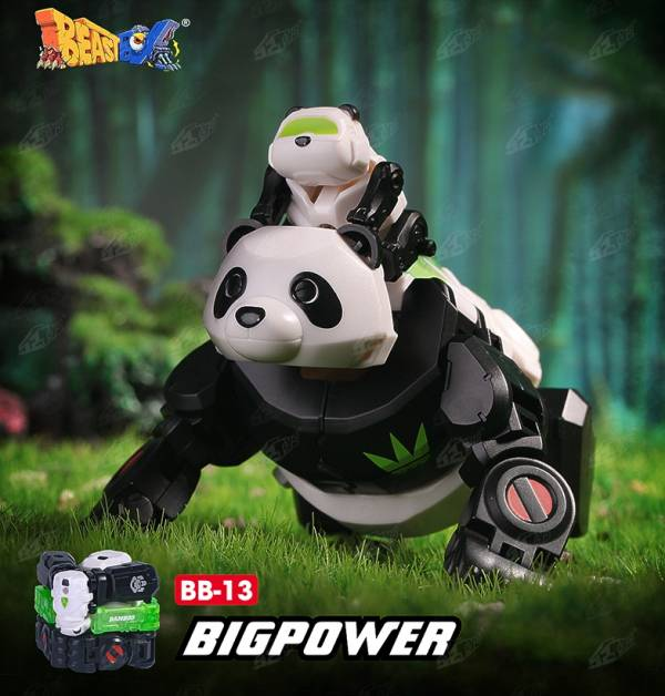 52Toys 猛獸匣 BEAST BOX 貓熊 大力丸 BIGPOWER BB-13 52Toys,猛獸匣,BEAST BOX,貓熊,大力丸,BIGPOWER,BB-13