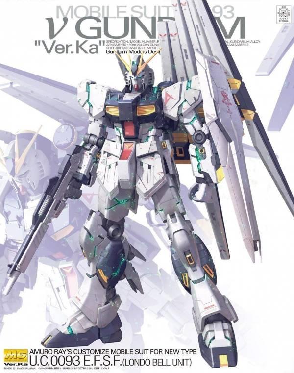BANDAI MG 1/100 RX-93 NU鋼彈 牛鋼 Ver.Ka 機動戰士鋼彈 逆襲的夏亞 組裝模型 BANDAI,MG 1/100,RX-93 NU 鋼彈,Ver.Ka,機動戰士鋼彈 逆襲的夏亞 組裝模型