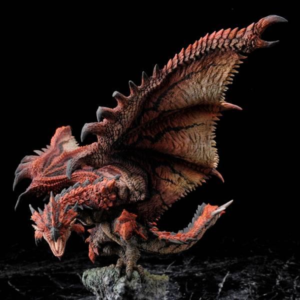 CAPCOM  魔物獵人魔物 魔物雕像 雄火龍 復刻版 MHW,卡普空,Monster Hunter,CAPCOM,魔物獵人,魔物雕像,雄火龍,復刻版,PS4