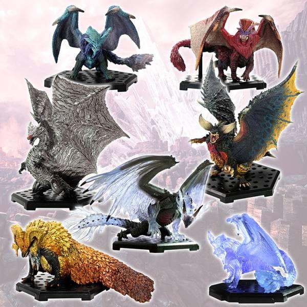 CAPCOM 盒玩 魔物獵人魔物集Plus Vol.13 全6種 CAPCOM,盒玩,魔物獵人魔物集Plus,Vol.13,全6種,一中盒6入販售