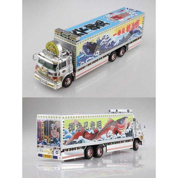 AOSHIMA 青島 1/32 RC卡車野郎 #3 一番星 望鄉一番星 完成品模型  AOSHIMA,青島,1/32,RC卡車野郎,#,3,一番星,望鄉一番星,完成品模型,