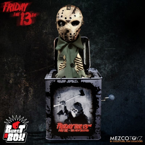 MEZCO TOYZ / 十三號星期五 / 傑森 Jason Voorhees / 恐怖彈跳音樂盒 MEZCO TOYZ,Friday The 13th Part VII,十三號星期五,傑森,Jason Voorhees,恐怖音樂盒