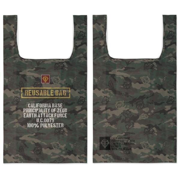 [再販] COSPA 機動戰士鋼彈 吉翁軍迷彩圖案 全彩環保袋  [再販],COSPA,機動戰士鋼彈,吉翁軍迷彩圖案,全彩環保袋,