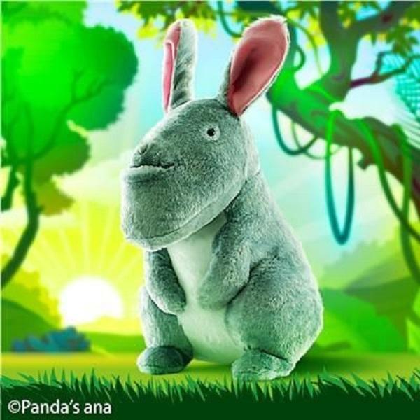 SK JAPAN 景品 戽斗動物 兔子 BIG絨毛布偶 40CM SK JAPAN,景品,戽斗動物,兔子,BIG絨毛布偶,40CM