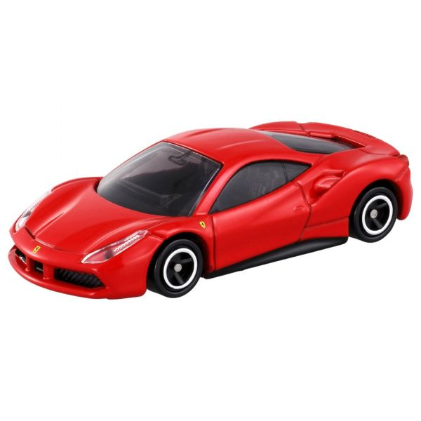 TOMICA 多美小汽車 1/62 法拉利 FERRARI 488 GTB 紅 TOMICA,多美小汽車,法拉利,FERRARI 488 GTB