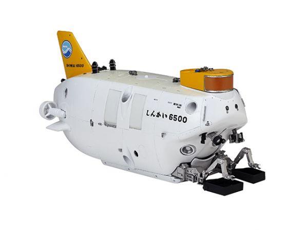 KAIYODO 海洋堂 有人潛水調船 深海6500 完成品模型 宮脇修一的房間 ROOM-5 KAIYODO,海洋堂,宮脇修一,ROOM-5,有人潛水調船,深海6500