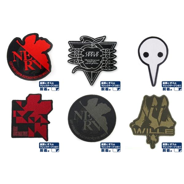 [再販] COSPA 新世紀福音戰士 EVA 可拆卸徽章 全6種 分別販售  [再販],COSPA,新世紀福音戰士,EVA,可拆卸徽章,全6種 分別販售,