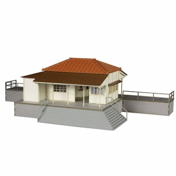 PLUM 1/80 車站 Type 小湊鐵道 組裝模型  PLUM,1/80,車站,Type,小湊鐵道,組裝模型,