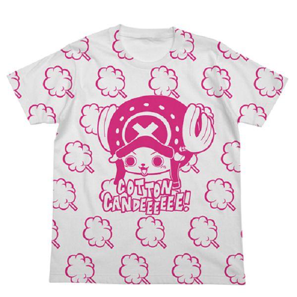 [再販] COSPA 海賊王 喬巴 棉花糖 短袖T恤 白 COSPA,海賊王,喬巴,棉花糖,短袖,T恤,T-shirt,白