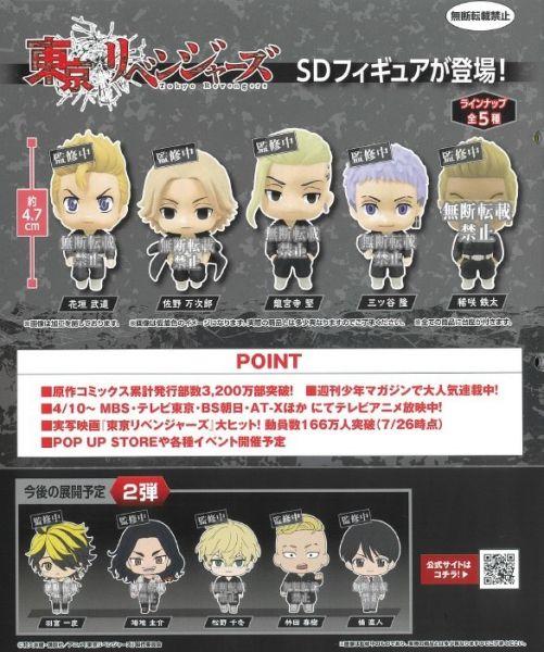 BANDAI 扭蛋 東京復仇者 公仔1 全5種 隨機5入販售  BANDAI,扭蛋,東京復仇者,公仔1,全5種 隨機5入販售,