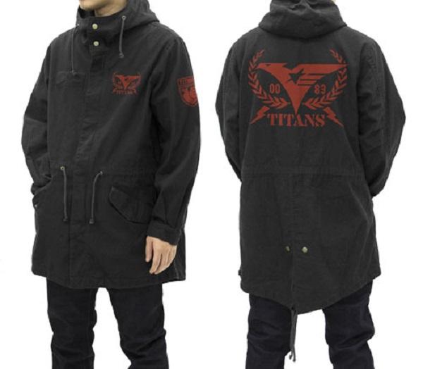 COSPA 機動戰士Z鋼彈 迪坦斯 M-51 長袖連帽夾克 黑色 COSPA,機動戰士Z鋼彈,迪坦斯,M-51,長袖連帽夾克,黑色