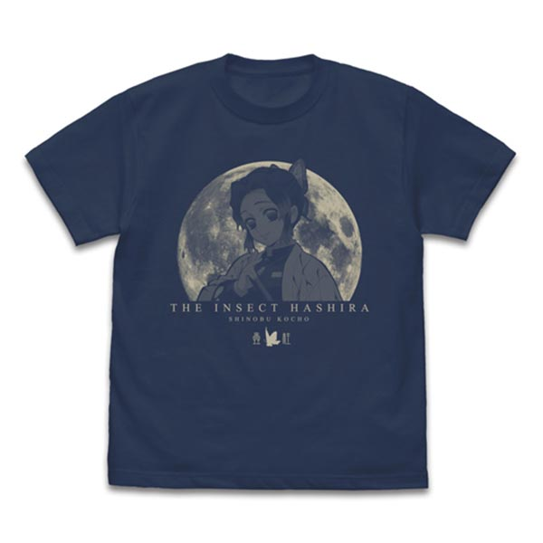 COSPA 鬼滅之刃 蟲柱 胡蝶忍 短袖T恤 岩灰色 COSPA,鬼滅之刃,蟲柱,胡蝶忍,短袖T恤,岩灰色