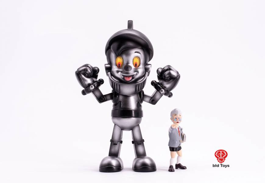 [全球限量] Bid Toys 鐵童 原型機配色版 TETSU-DOU Prototype Bid Toys,鐵童,原色版,TETSU-DOU  Prototype,鐵人28號