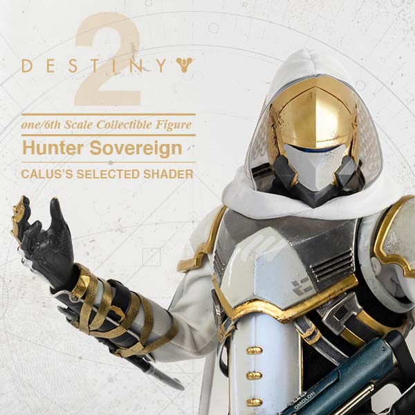 THREE ZERO 天命2 獵人 Hunter Sovereign 白 30CM THREE ZERO,天命2,獵人,Hunter,Sovereign,白,