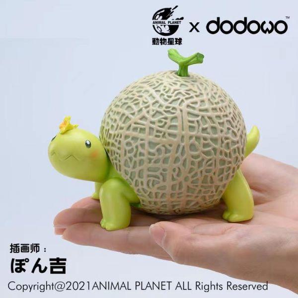 動物星球 野菜妖精 哈密瓜龜 靜態完成品 動物星球,野菜妖精,哈密瓜龜,靜態完成品,