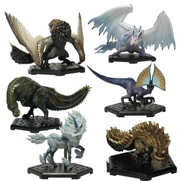 CAPCOM 盒玩 魔物獵人 標準模型集 Plus Vol.12 全六種 一中盒販售 CAPCOM,盒玩,魔物獵人魔物集Plus,Vol.12,全6種,一中盒6入販售