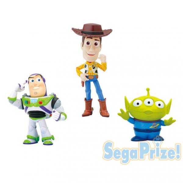 SEGA 景品 迪士尼迷你公仔 巴斯光年 胡迪 三眼怪套組 8cm SEGA,景品,迪士尼迷你公仔,巴斯光年,胡迪,三眼怪,玩具總動員