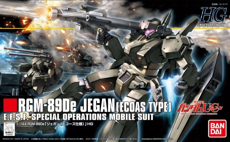 HGUC 1/144 #123 RGM-89E ECOAS 特務型 傑鋼 126797