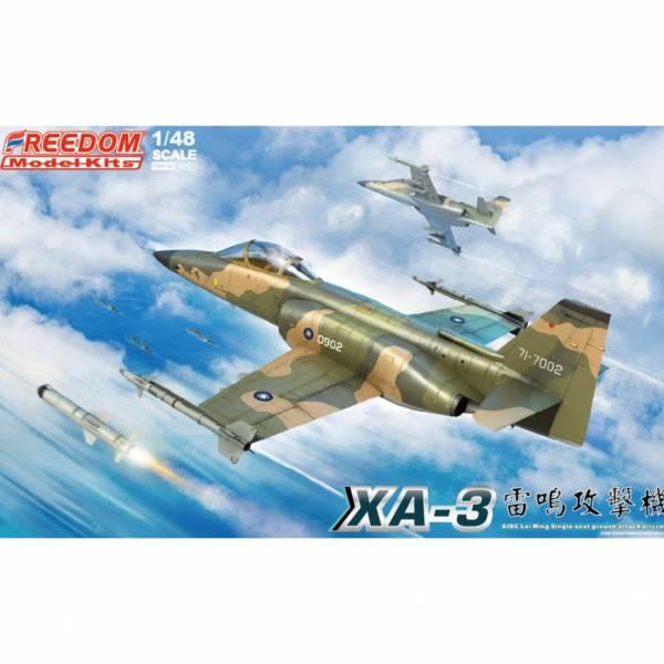 FREEDOM 1/48 XA-3攻擊機 單座- 對地武裝 附初回特典 海報+金屬空速管 Freedom,1/48,XA-3攻擊機單座, 對地武裝