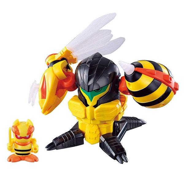 BANDAI 蟲蟲忍者系列 蟲蟲忍者 蜜蜂機器人 趣味玩具 BANDAI,蟲蟲忍者系列,蟲蟲忍者,蜜蜂機器人
