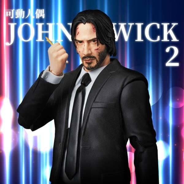 MEDICOM TOY MAFEX 捍衛任務 2:殺神回歸 約翰·維克 JOHN WICK 1/12比例可動公仔 MEDICOM TOY,MAFEX,捍衛任務 2,約翰·維克,JOHN WICK