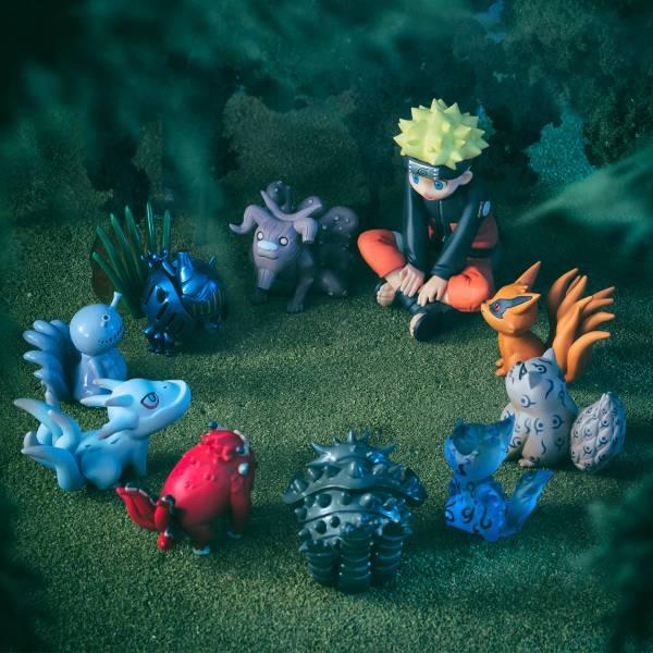 MEGAHOUSE G.E.M. 火影忍者 疾風傳 漩渦鳴人與尾獸們 MegaHouse,G.E.M.,火影忍者 疾風傳,漩渦鳴人,尾獸