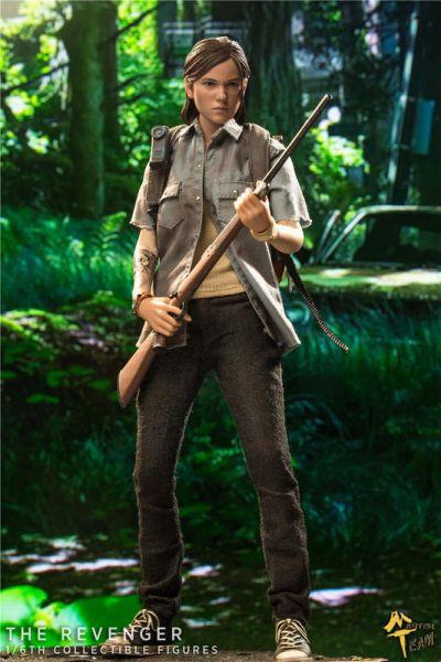 MTTOYS 1/6 美國末日小女孩 艾莉  The REVENGER 可動公仔 MTTOYS,1/6,最後生還者,艾莉,The Last of Us Ellie