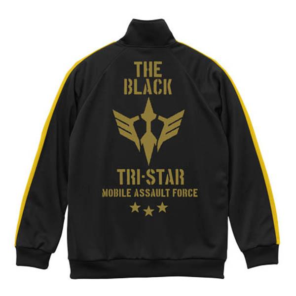 COSPA 機動戰士鋼彈 黑色三連星 黑×黃 jersey外套 COSPA,機動戰士鋼彈,黑色三連星,黑×黃,jersey外套