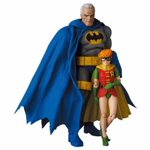 MEDICOM TOY MAFEX NO.139 DC 蝙蝠俠 黑暗騎士歸來 蝙蝠俠 藍色版&羅賓 MEDICOM TOY MAFEX DC 蝙蝠俠 黑暗騎士歸來 蝙蝠俠 藍色版&羅賓