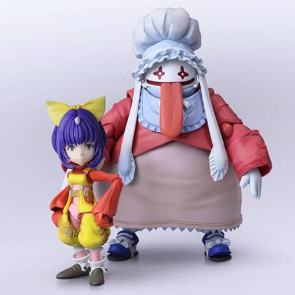SQUARE ENIX BRING ARTS 太空戰士 最終幻想 Final Fantasy 9 艾可 & 葵娜 可動公仔 SQUARE ENIX,BRING ARTS,太空戰士,最終幻想,Final Fantasy 9,艾可,葵娜