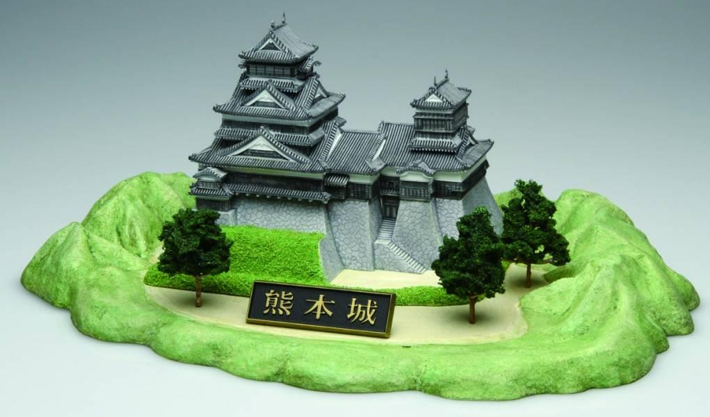 1/700 熊本城 FUJIMI 城1 富士美 組裝模型 FUJIMI,日本建物,日本城堡,熊本城,
