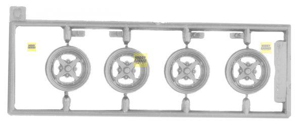 1/24 Work Equip 14吋 胎圈組 FUJIMI W106 富士美 組裝模型 FUJIMI,1/24,W,WORK,MERISTER,EMOTION,18吋,鋁圈,