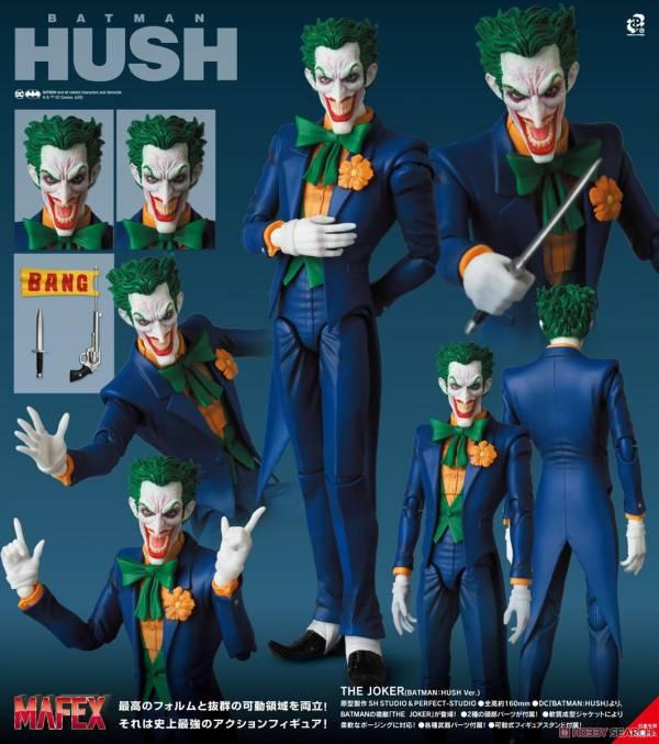 MEDICOM TOY MAFEX NO.142 蝙蝠俠 緘默 小丑 BATMAN:HUSH Ver. MEDICOM TOY,MAFEX,NO.142,蝙蝠俠,緘默,小丑,BATMAN:HUSH Ver.