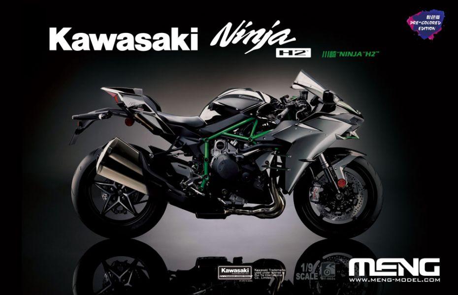 [零件已上色 免膠水] MENG 1/9 川崎 Kawasaki Ninja H2 零件已上色 免膠水 組裝模型 MT-002s MENG,1/9,川崎,Kawasaki Ninja H2,MT-002s