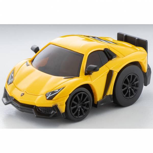 TOMYTEC Choro Q zero Z-75a Lamborghini Aventador 50° Anniversario Yellow 迷你車 TOMYTEC,Choro Q,zero Z-75a,Lamborghini Aventador 50° Anniversario Yellow,迷你車,