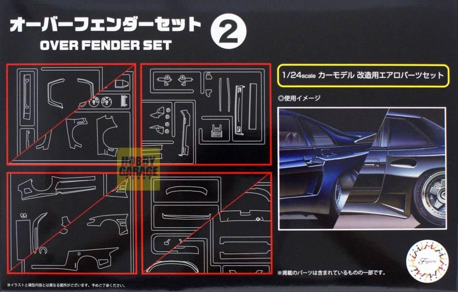 1/24 葉子版寬體套件2 FUJIMI GT32 富士美 組裝模型 FUJIMI,1/24,GT,車庫,GARAGE,人形,車內小物,葉子版,寬體,,