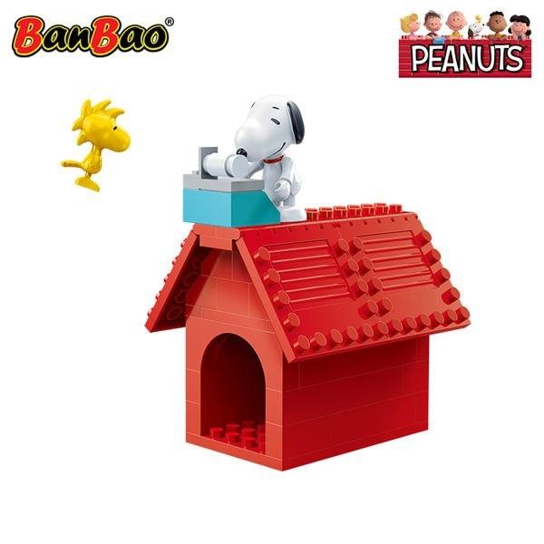 BanBao 邦寶積木 史努比 史努比小屋 60片 BanBao,邦寶積木,史努比,史努比小屋,60片