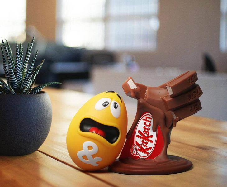 ZCWO 巧克力戰爭 Cholocate War kitKatch vs & ZC366 ZCWO,ZC366,巧克力戰爭